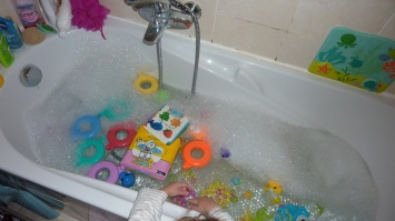 Préparation du bain