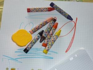 Nouveaux crayons maison Giotto.
