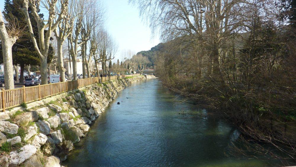 Les Rives du Loup du côté de Villeneuve-Loubet village... (1/6)