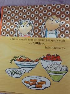 Tous les légumes revisités à la sauce Charlie.