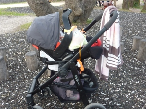 Cosy de la poussette Graco trio evo (coque junior baby).
