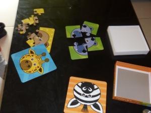 Le Puzzle de la box: 4 puzzles en 1!