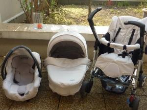 La poussette Loola de bébé confort, modèle 2009.