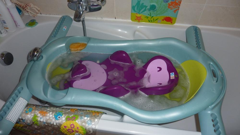 Test baignoire: la Flexibath de Stokke, rose. (4/4)