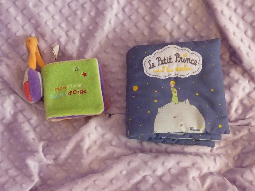 Les livres en tissu de Choupinette.
