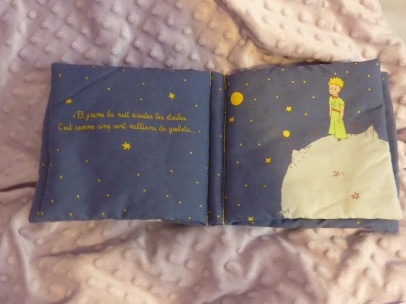 Le Petit Prince sous les étoiles.
