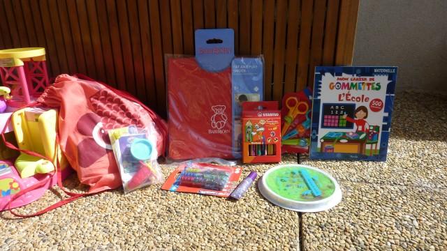 La MUM BOX créative, rentrée des classes.