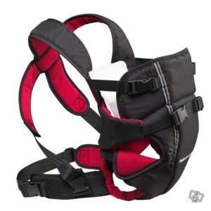 Porte-bébé Aubert concept avec clips.