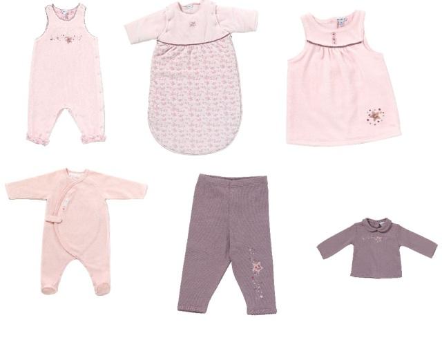 En rose et violet, la sélection de Puce bébé.