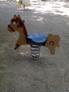 cheval bascule