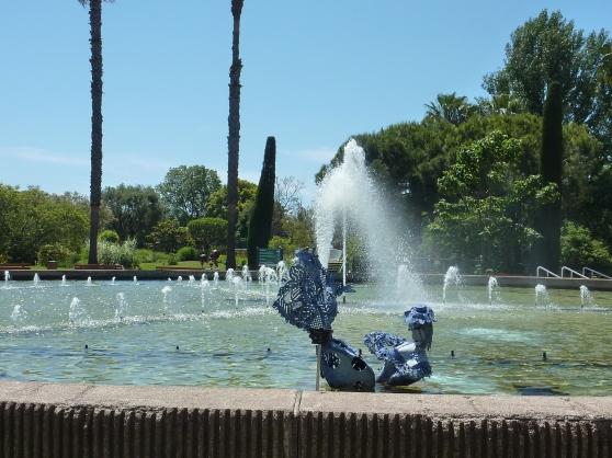 La Fontaine centrale.