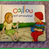 Chut, les enfants lisent #8 - Caillou est amoureux.