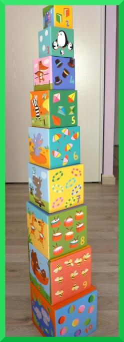 10 cubes imagiers Djeco.