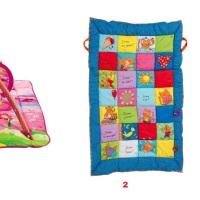 Ma sélection de tapis d'éveil et de jeux.