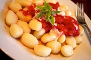 Gnocchis à la pomme de terre à l'italienne.
