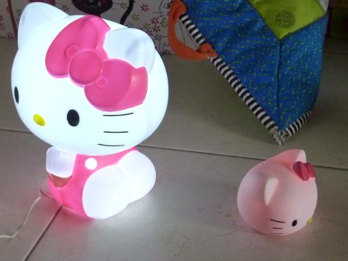La lampe de chevet de Puce.