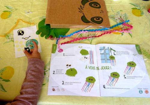 Les Kits créatifs à partir de 3 ans : essai Pandacraft. (1/2)