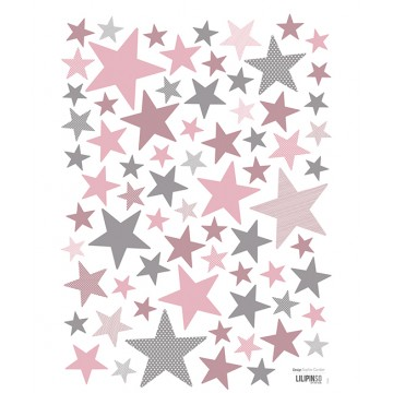 stickers-etoiles-fille-rose