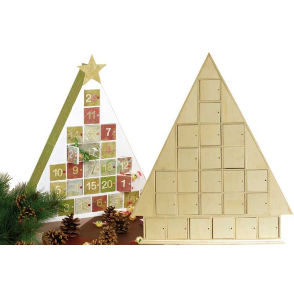 calendrier-avent-bois-triangle-51cm