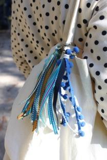 Pompon Bleu Roi